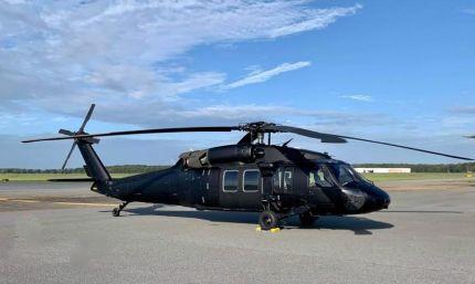 Black Hawk Helicopter joins EFT's Fleet