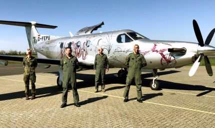 Luftwaffe completes OT&E Course as Launch Customer